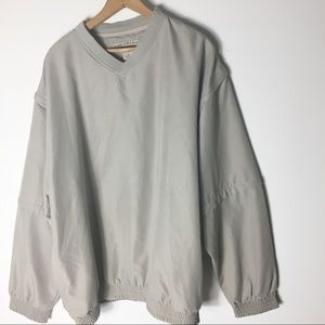Timberline Cream Men's XL Zip Sleeves Shirt